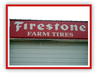 Firestone tractor tires from Smith Tire and Repair