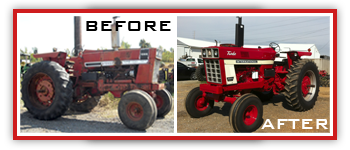 Smith Tire and Repair International Harvester Tractor Restoration