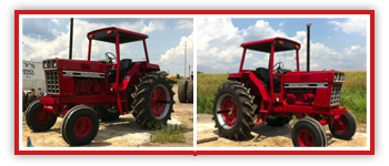Tractor Restoration from Smith Tire and Repair